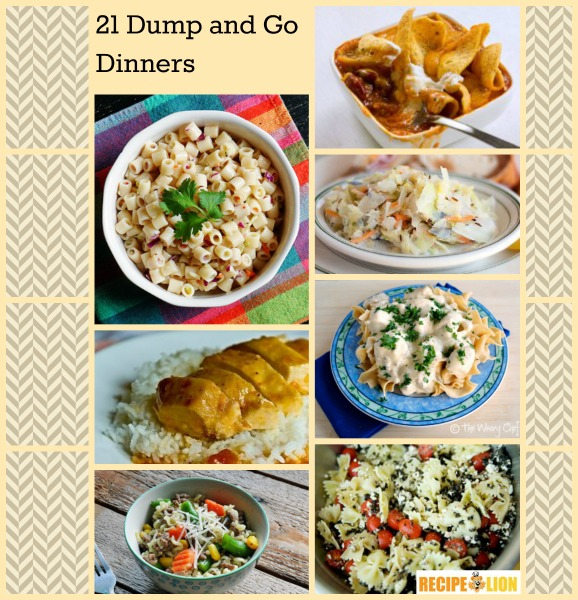 Dump and Go Dinner: 21 Easy Weeknight Dinner Ideas