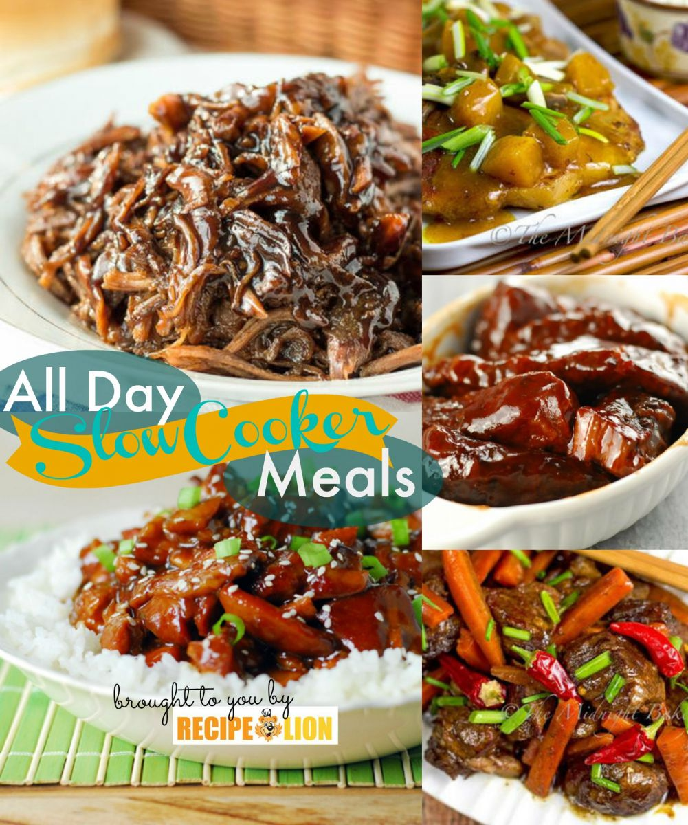 All Day Slow Cooker Recipes