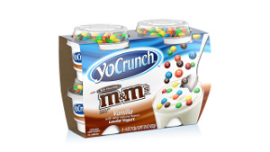 YoCrunch MandMs Vanilla Giveaway: YoCrunch Yogurt Packs