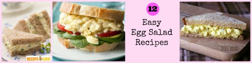 12 Easy Egg Salad Recipes