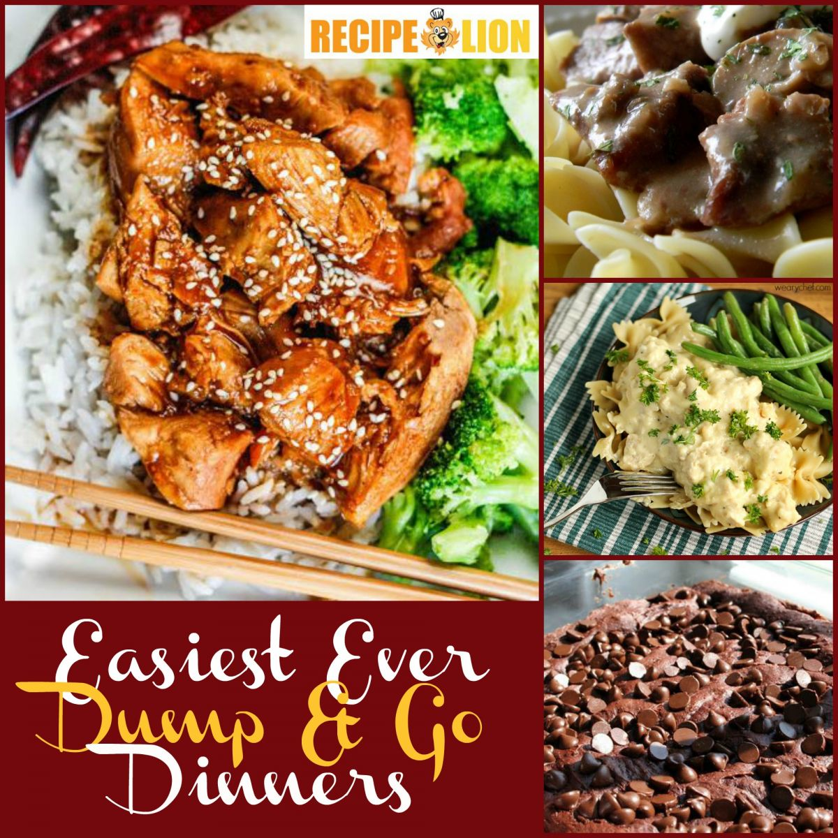 Easy Dinner Recipes: Dump and Go Dinners