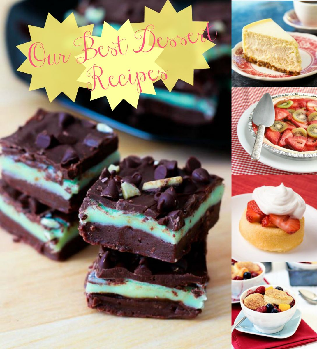 Get The Cooking Help When You Want It Our-Best-Dessert-Recipes