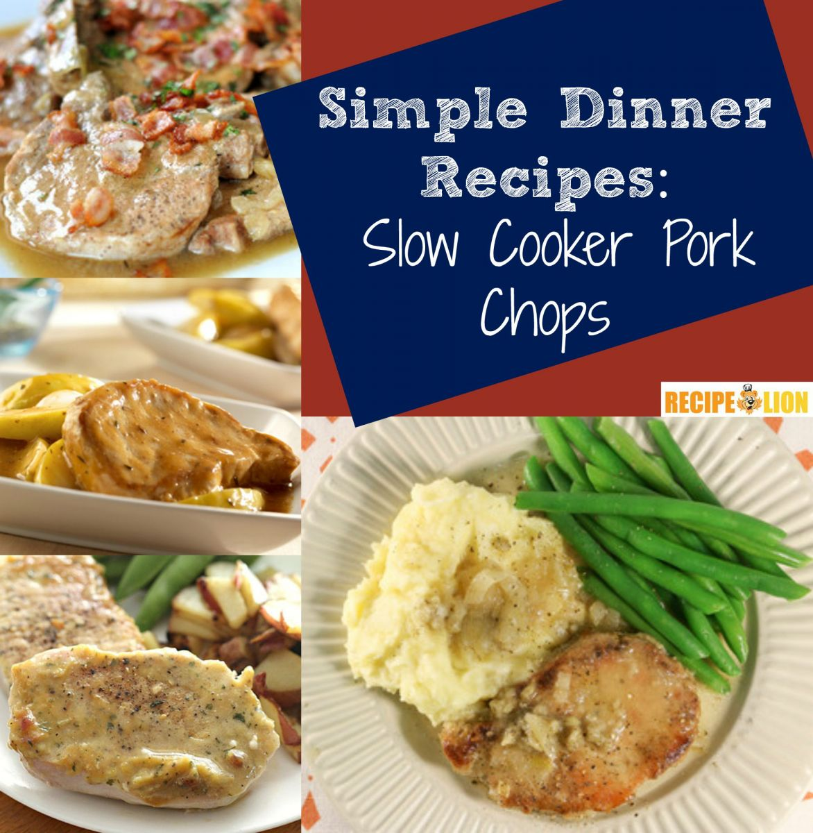 8 Easy Slow Cooker Pork Chops Recipes