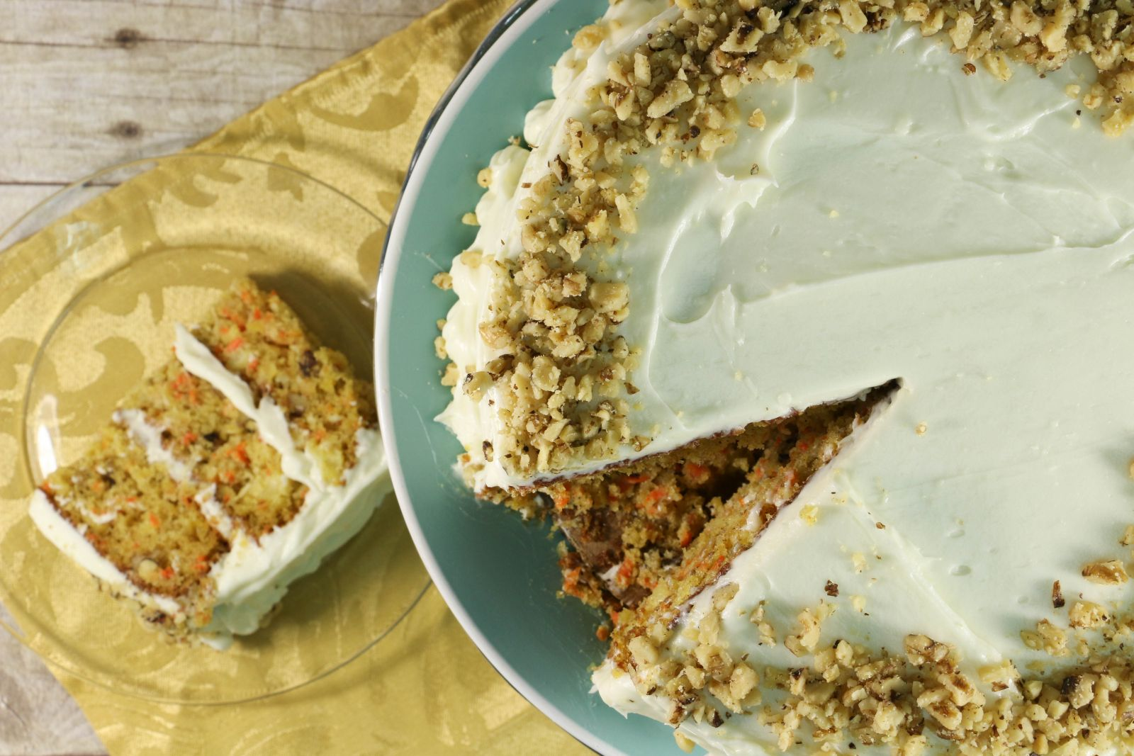 Mom's Triple Layer Carrot Cake