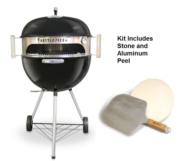 Giveaway Kettlepizza Deluxe Usa Outdoor Pizza Oven Kit