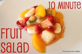 10-Minute Easy Fruit Salad