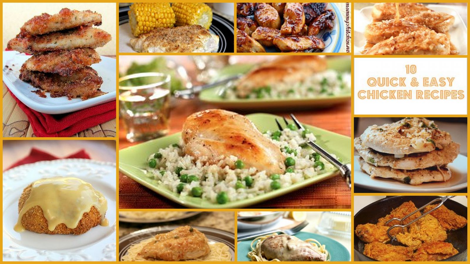 10 Quick and Easy Chicken Dinner Recipes