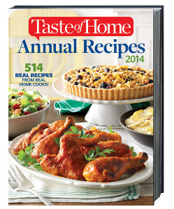 Taste of Home Annual Recipes Cookbook