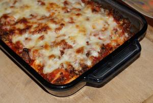 4-Ingredient Tortellini Bake