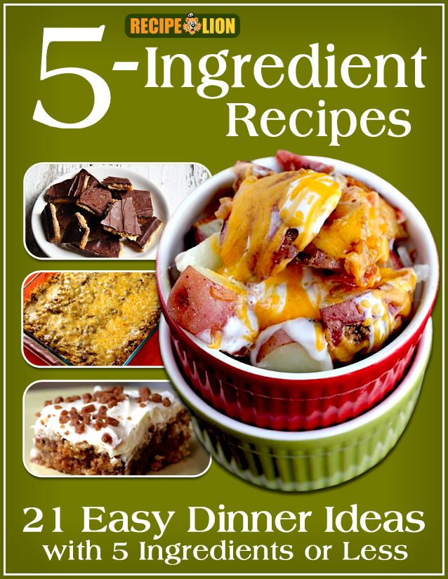 5-Ingredient Recipes eCookbook