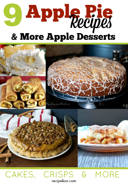 9 Homemade Apple Pie Recipes and More Apple Desserts