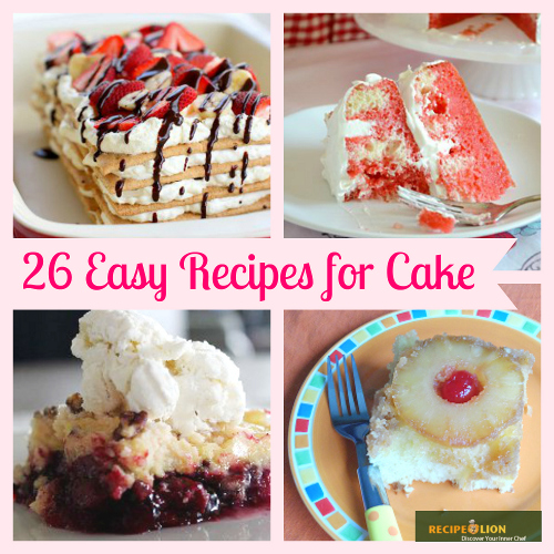 Easy Recipes for Cake