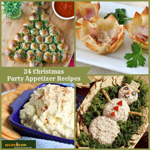 24 Christmas Appetizer Recipes