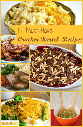 17 Cracker Barrel Restaurant Recipes