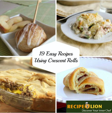 19 Easy Recipes Using Crescent Rolls