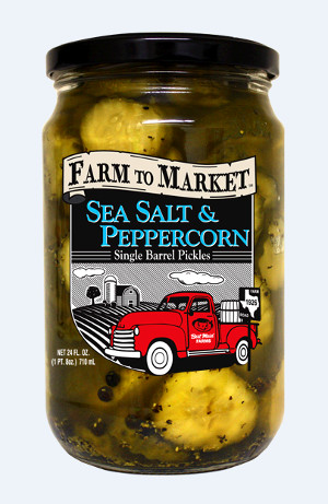 Farm to Market Single Barrel Pickles Giveaway