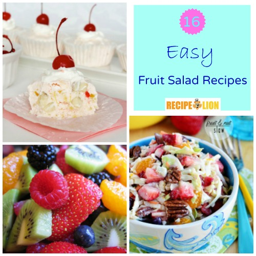 16 Easy Fruit Salad Recipes
