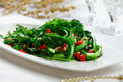 Holiday Rapini Saute