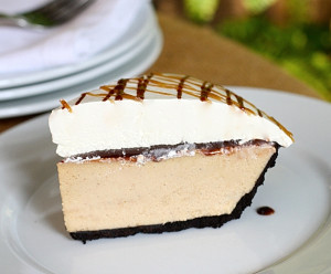 Five Layer Creamy Peanut Butter Pie