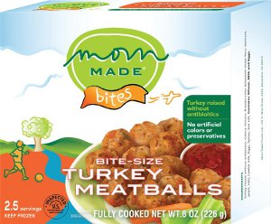 Mom Made Foods Turkey Meatballs