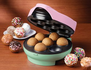 Nostalgia Electrics Cake Pop and Donut Hole Bakery Giveaway