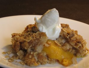 Oatmeal Peach Cobbler Recipe