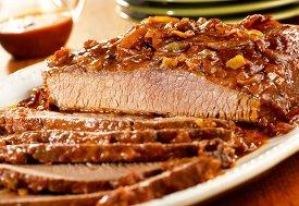 slow cooked carolina beef brisket this flavor packed beef brisket ...