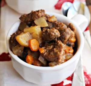 Sunday Slow Cooker Beef Stew