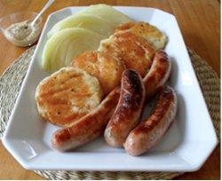 Cabot Cheddar Potato Pancakes