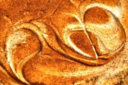 Gingerbread Cheesecake Swirl