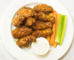 Buffalo Chicken Wings and Sauce