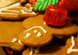Gingerbread Cut Out Cookies for Christmas