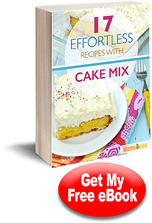 17 Effortless Recipes with Cake Mix eCookbook