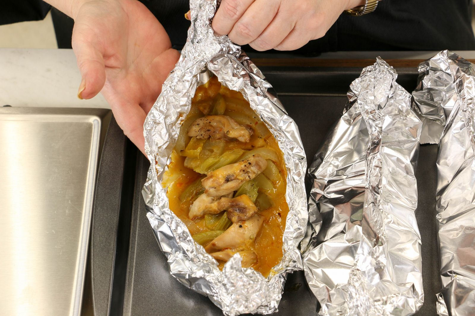 Baked Chicken Breast In Foil Packets Recipelion Com